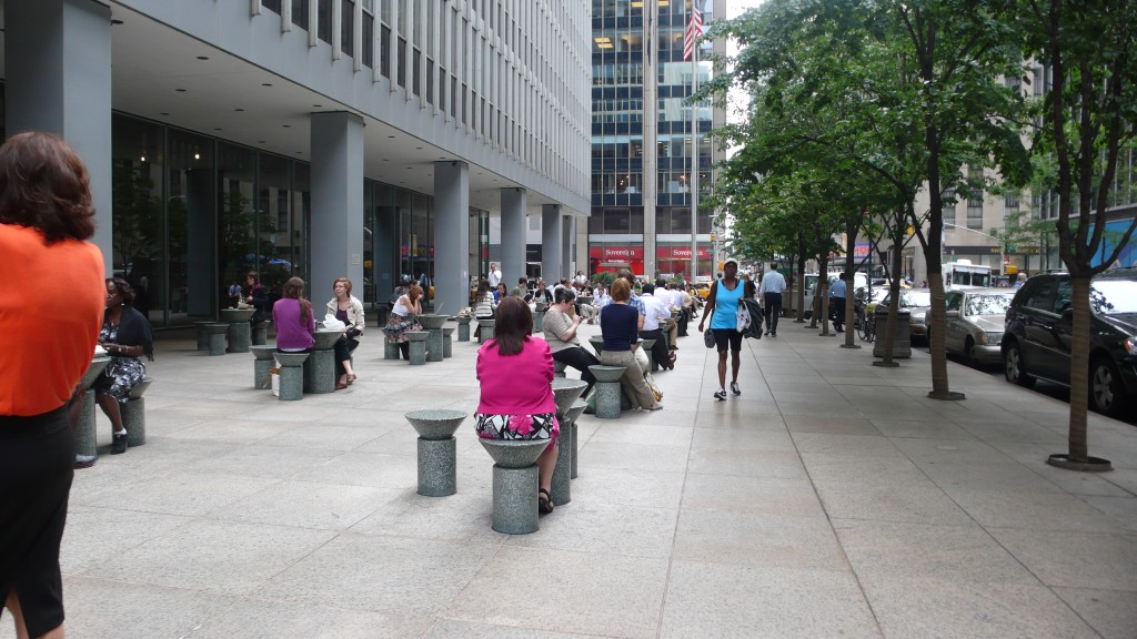 Plaza at 1285 Sixth Avenue in New York City